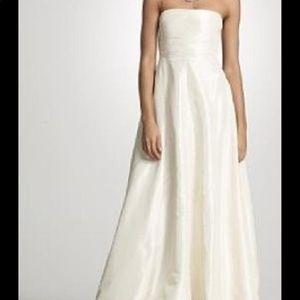 NWT J.Crew Ivory Strapless Wedding Gown